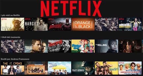 Le serie tv in arrivo su Netflix