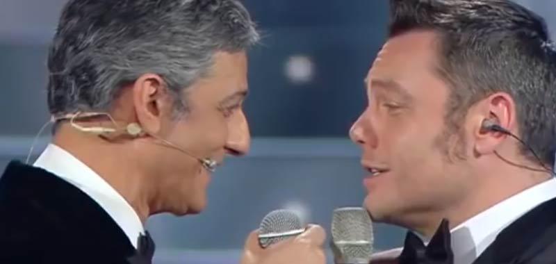 Sanremo, pace fatta tra Fiorello e Tiziano Ferro